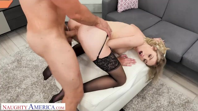 Nudes americas got talent singer Naughty america - kelly shows the boss how good her oral skills are