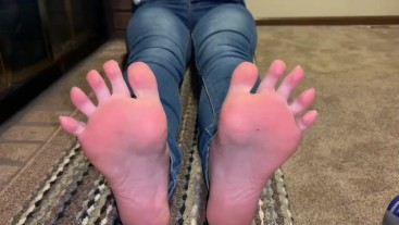 Soft soles on a thick pawg HD