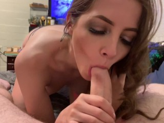Young Old Fuck Video Gamer Girl Interrupted By My Huge Dick In Her Face, Amateur Babe