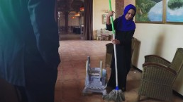 ARABS EXPOSED – Poor Janitor Gets Extra Money From Boss In Exchange For Sex