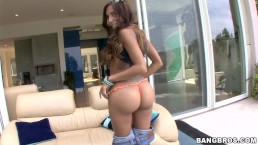 BANGBROS - Big Booty Latin Babe Lela Star Is Back For A Creampie