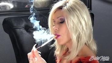 Nikki Ashton - SFW - Blonde MILF Goddess Chain Smoking More & Saratoga 120