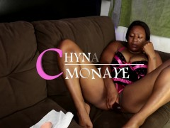 Chyna Monaye Solo Heat - Big Dick Dildo Stuffed Thick Tight Creamy Pussy