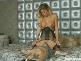 Avi samples creampie blowjobs brazzers - busty milf brittany andrews gets ass fucked by an astronau