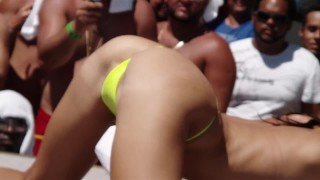 slutty Twerk Contest Full Pussy Florida Keys