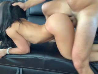 Fit Teen from TINDER gets fucked after the club