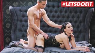 LETSDOEIT – Busty Brunette Aletta Ocean Fantasy Fucked 'Till She Cums Hard