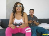 RealityKings - The real hard game stars after the video game with Aaliyah H