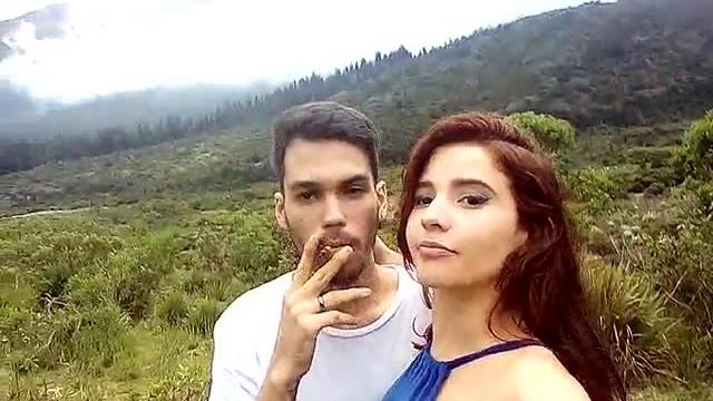 Herida vagina - Hermosa agatha vega con su novio cogiendo rico en merida en las montañas