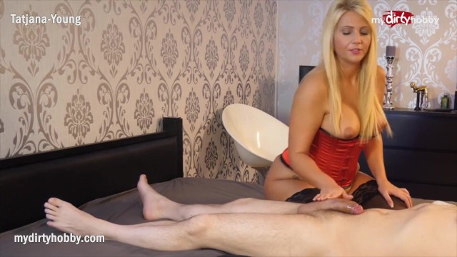 Steering wheel cocked to left - Mydirtyhobby- tatjana-young left his cock drained after this erotic massage