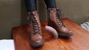 Goddess JMACC - Under my boots, your dick is nothing (Trailer)