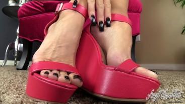 Life is Meaningless Without My Feet - Feet JOI - Nikki Ashton -
