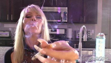 Controlling your Cock With Smoke - JOI - Nikki Ashton -
