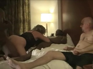 Cuckold Wife Husband video: Husband Enjoys Watching Amateur Cuckold Wife Swing