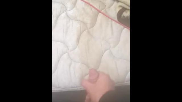 Latex bed mattress sleep englander mattress Master cumming on normas piss soaked mattress