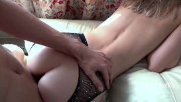 HORNY INTENSE POV SEX AT HOME WITH PRETTY BLONDE - Amateur Couple Lelovers