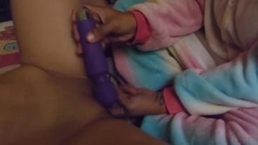 Massage Party with my friend Pandora.