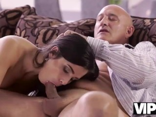 Omg My Step Brother S Huge Fucking, VIP4K. Bald handsome step dad has powerful cock for busty brunet