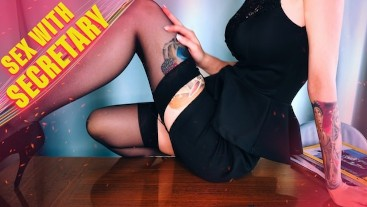 Secretary sex with MyKinkyDope