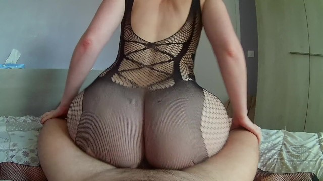 Fat blonde milf She puts her sexy lingerie to overlap her boyfriend with her fat ass
