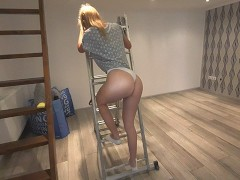I help my new neighbour moving in. Also fucking her - morningpleasure