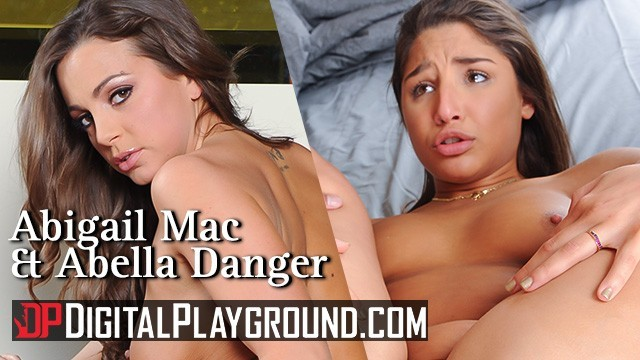 Digital Playground — Abigail Mac & Abella Danger compete for best office