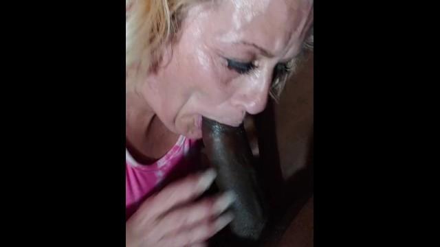 Mature Head Doctor Deep Throating 9 inch Dick