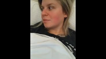CUTE BLONDE RIPS NASTY FART IN BED NEXT TO BOYFRIEND