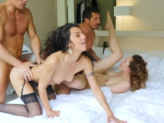 Jake cruise mike roberts slutty maid tricked into threesome 3some threesome cheating caught re
