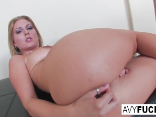 Sexy Avy strips off a sexy dress in this erotic solo for you to enjoy