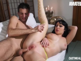 She Fucks Her Amateureuro - Busty Italian Hot Wife Wants To Enter The Porn World,