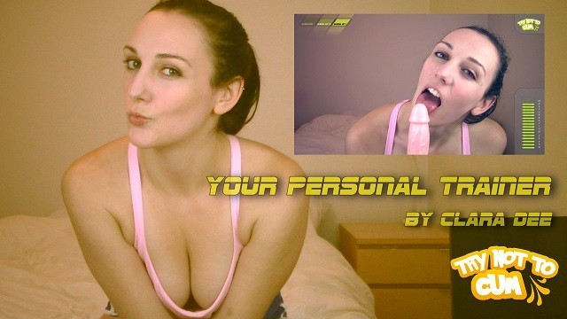 Your Personal Trainer FULL VIDEO by Clara Dee - The Jerk Off Games
