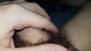 Playing With My Hairy Bush