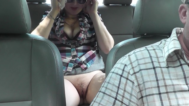 Sex automobile cars - Taxi driver fucked passenger in automobile. without panties on street naked
