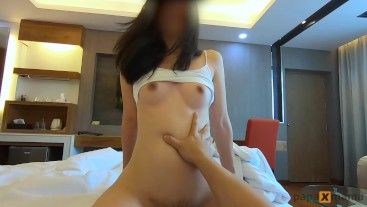 Horny soaked cowgirl I rides him until he cum POV homemade by papaxmama