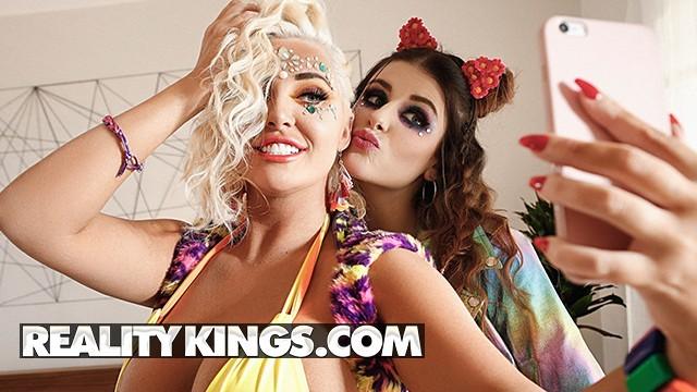 Shannon james naked free Reality kings - big tit raver girls michele james karissa shannon