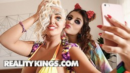 Reality Kings – Big tit raver girls Michele James & Karissa Shannon
