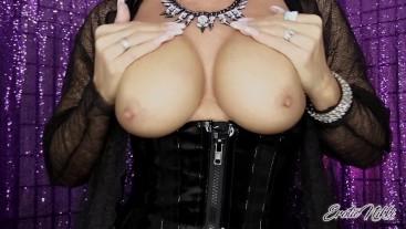 Bust A Nut On My Tits - Nikki Ashton -