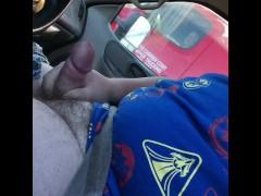 Caught Wanking By Trucker