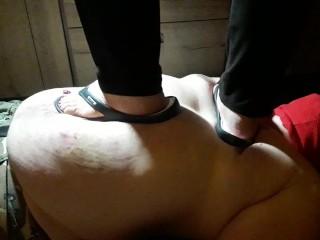 Mens Vibrator Toy 286lbs - 130kg Girl Trampling, Bbw Handjob Rough Sex Feet Exclusive