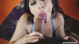 SLOPPY TOPPY Gabriela Lopez Sucks a Mean Dick