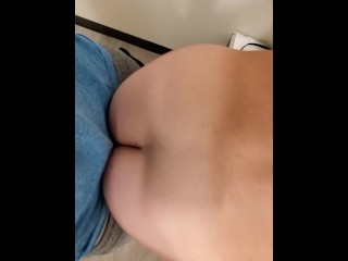 With gets fucked and cums room...
