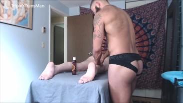 Sensual Massage Leads to Hard Raw Fuck for FTM TransMan (HD VERSION)