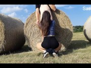 We Fuck in the Field Next to the Road - Video Teaser - Hungarian Couple