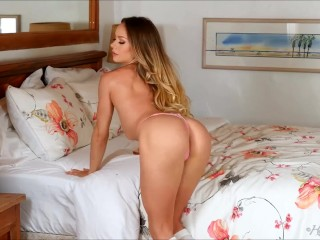 Preview 6 of Pretty Naomi Swann moves so kinky stripteasing in her bedroom
