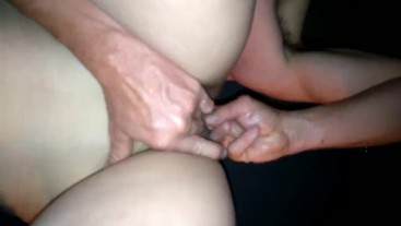 Fingering to orgasm