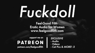My Fuckdoll: Pussy Licking, Rough Sex & Aftercare (Erotic Audio for Women)