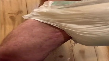 Filling my diaper