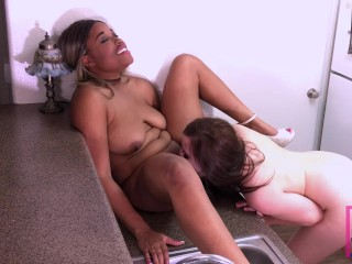 Nina Rivera and Shelby Paris fuck each other in the ass main image