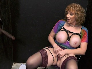 Pantyhose Slut Videos Busty Cougar Sara Jay Makes A Bbc Cum - Gloryhole, Big Ass